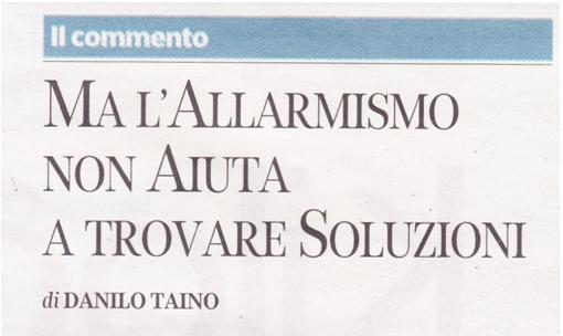 Allarmismo